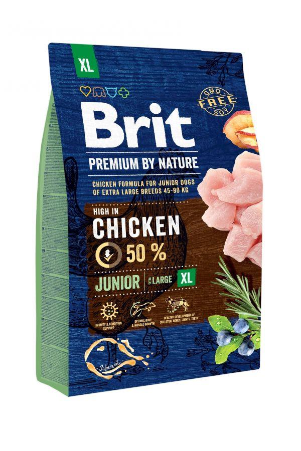 Brit Premium By Nature Chicken Junior XL 3 kg