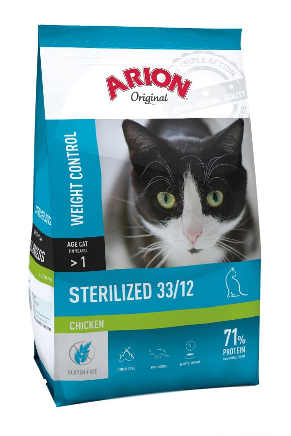 Arion Original Cat Sterlised Chicken 7,5 kg