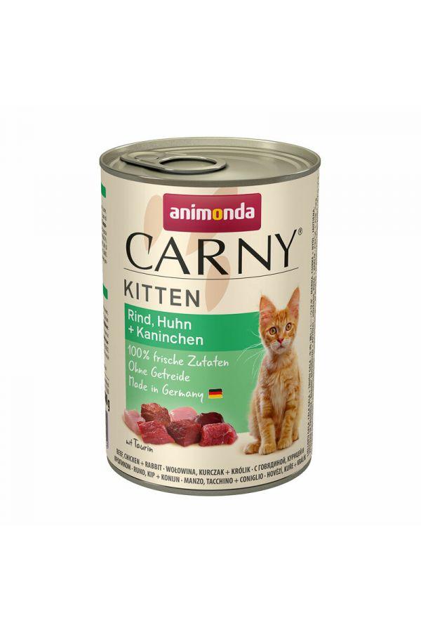 Animonda Carny Kurczak z Królikiem Kitten 400 g