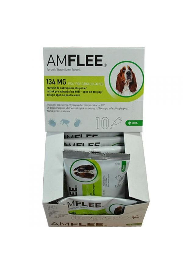 Amflee 134 mg pies 10 pipet *roztwór