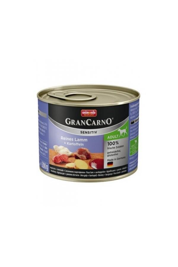 Animonda grancarno sensitiv adult jagnięcina z ziemniakami 200 g