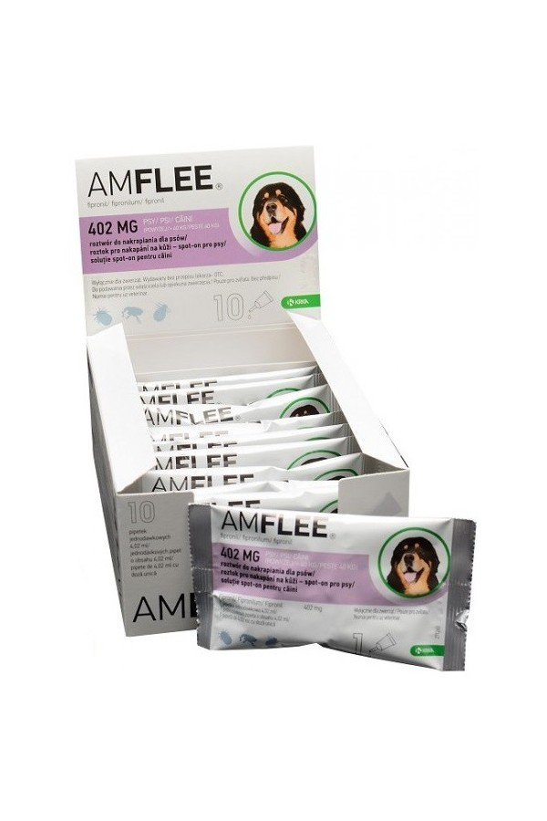 Amflee 402 mg pies 10 pipet *roztwór