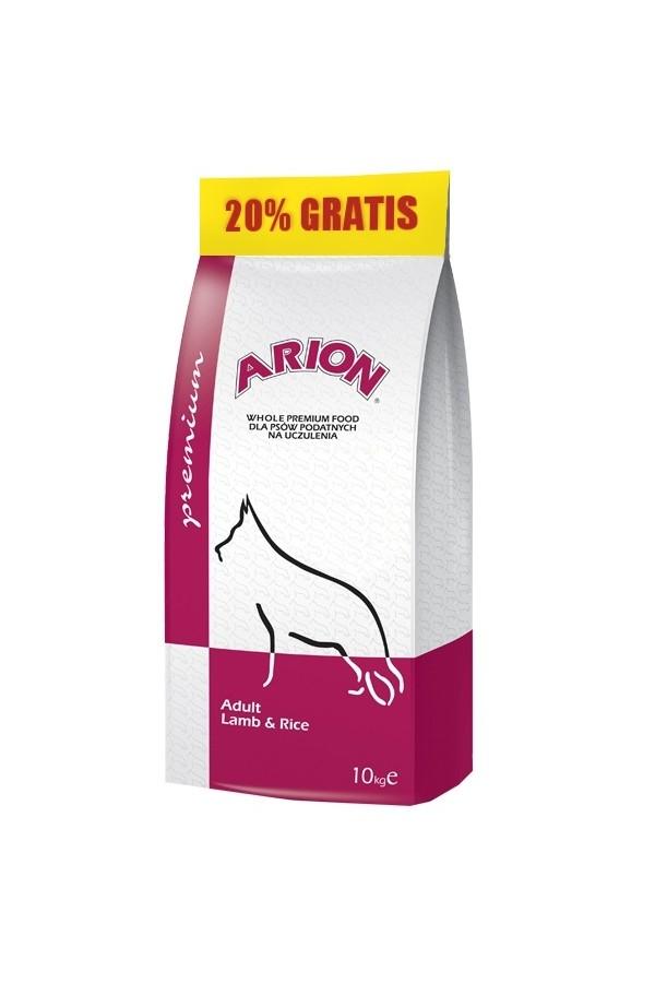 Arion premium adult lamb&rice 12 kg