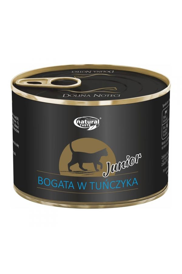 Dolina Noteci Natural Taste z Tuńczykiem Junior Kot 185 g