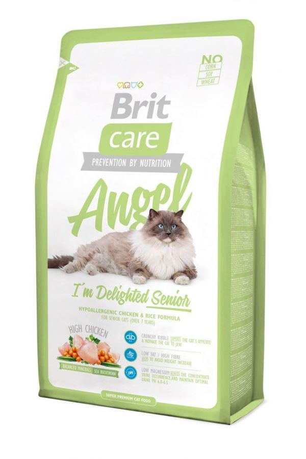 Brit Care Angel  Im Delighted Senior Chicken Kurczak 7 kg