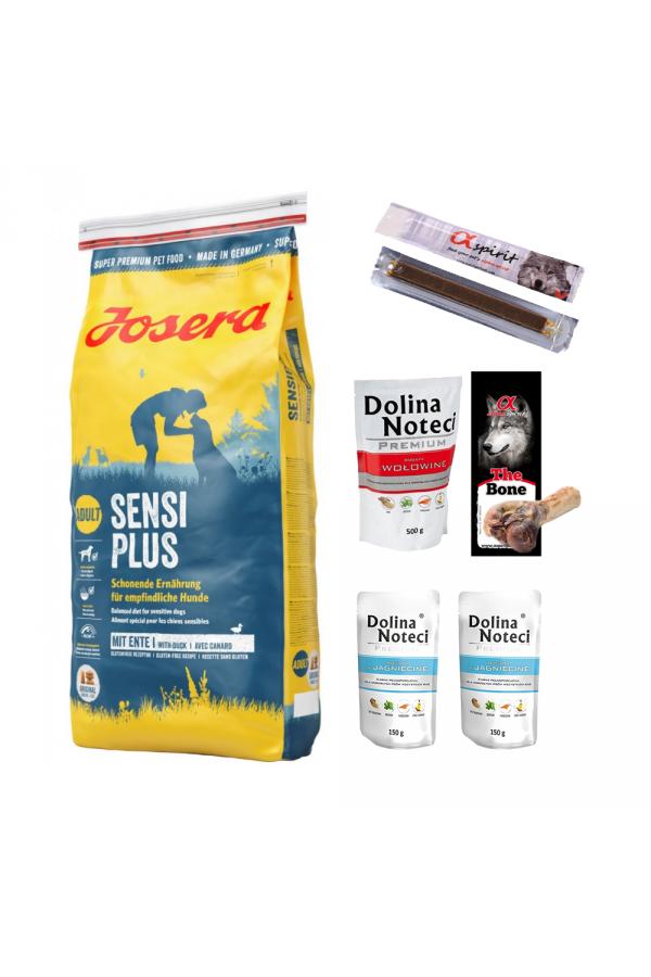 Pakiet Josera SensiPlus 15 kg + 6 GRATISÓW