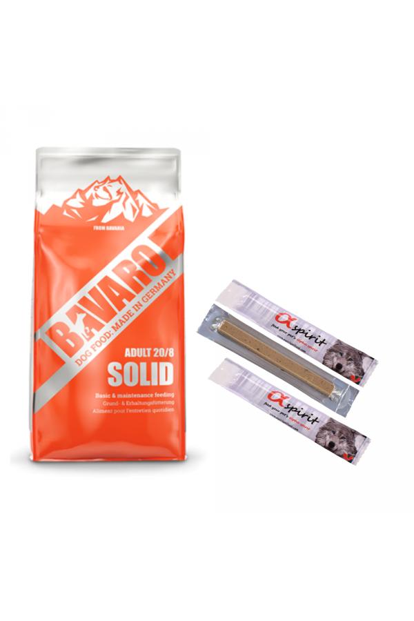 Pakiet Josera Bavaro Solid 18 KG + 3 Przysmaki GRATIS!