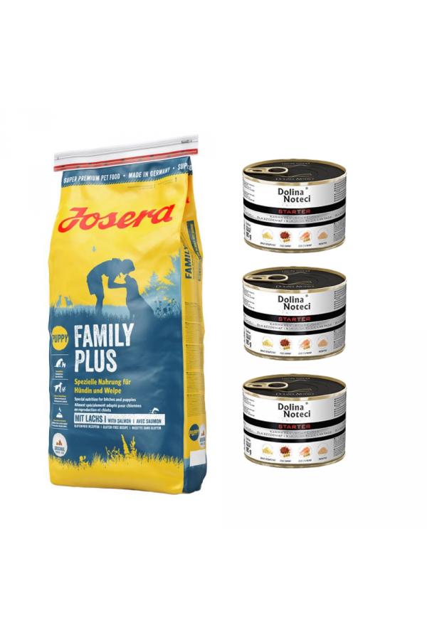 Pakiet Josera Family Plus 15 KG + 3 GRATISY!