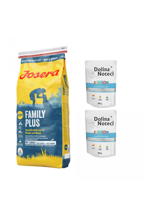 Pakiet Josera Family Plus 15 KG + 2 GRATISY od Doliny Noteci