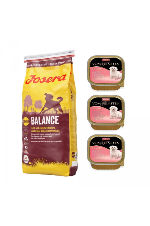 Pakiet Josera Balance 15 KG + 3 GRATISY od Animondy