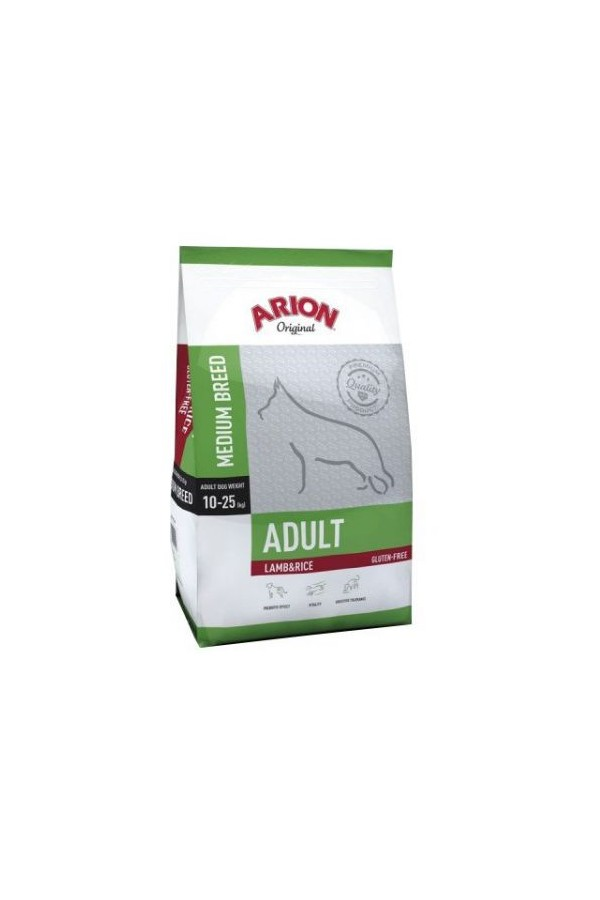 Arion Original Lamb & Rice Jagnięcina Ryż Medium Adult 12 kg