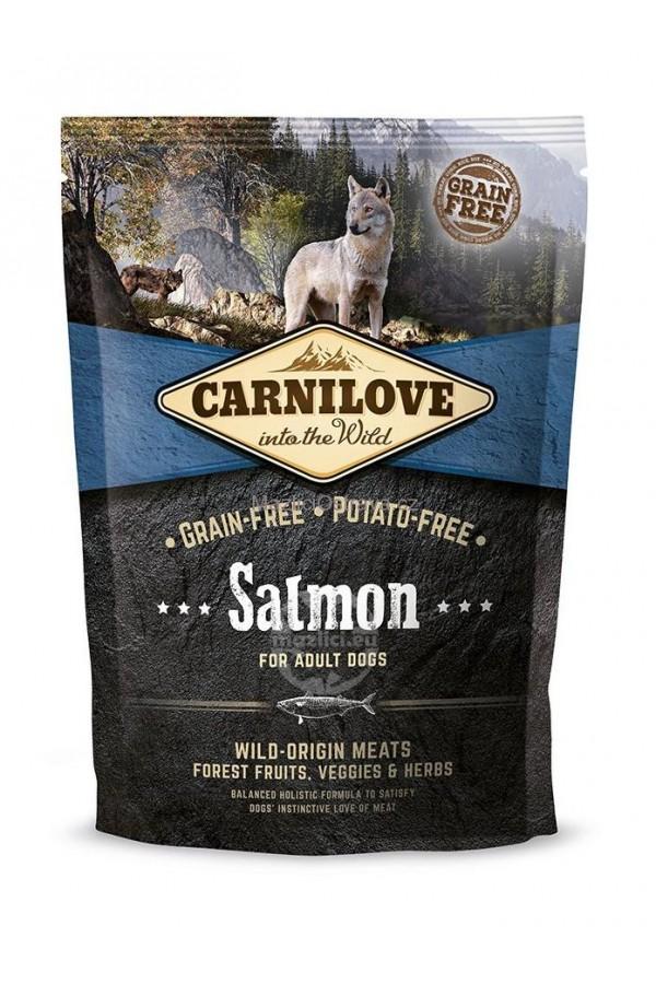 Brit Carnilove Salmon Łosoś Bezzbożowa Adult Dogs 1,5 kg