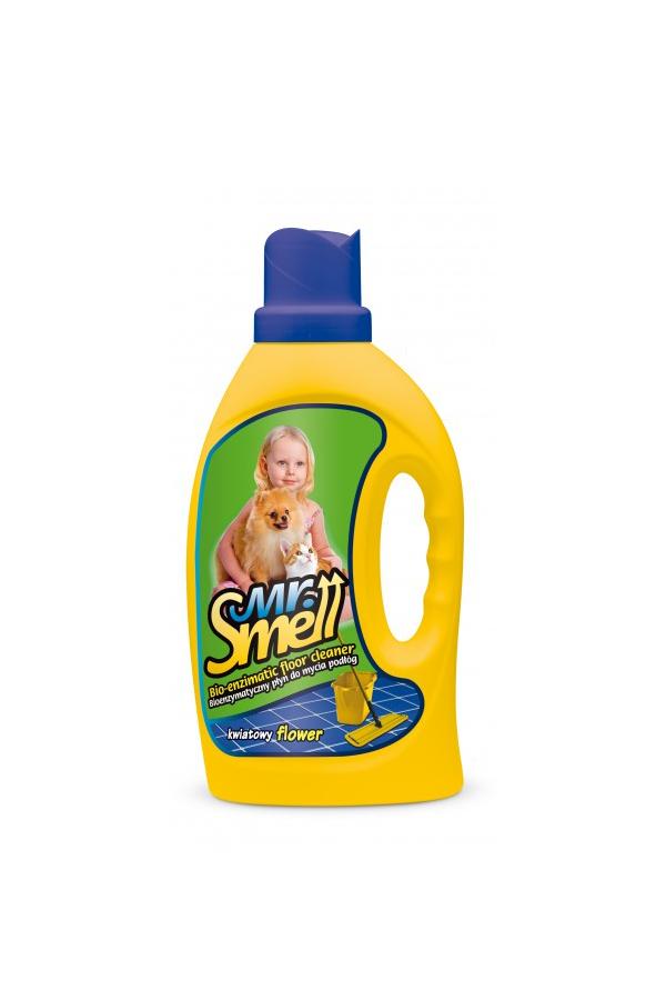 Mr Smell Bioenzymatyczny Płyn do Podłóg Kwiatowy 1 l