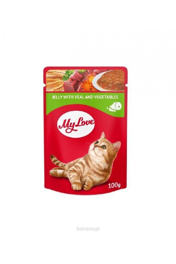 MY LOVE 100G CIELĘCINA /WARZYWA
