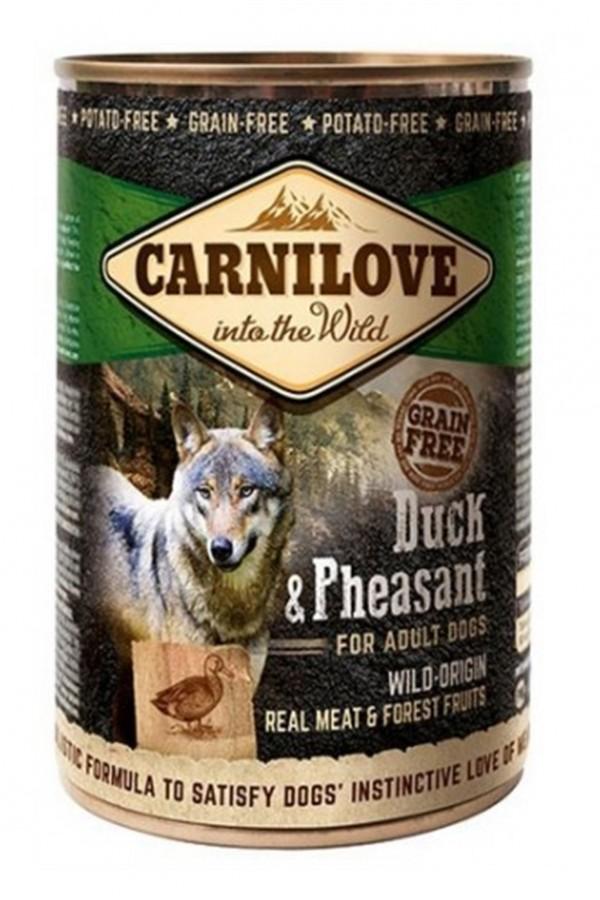 Brit Carnilove Duck & Pheasant Kaczka Bażant Bezzbożowa Adult Dogs 400 g
