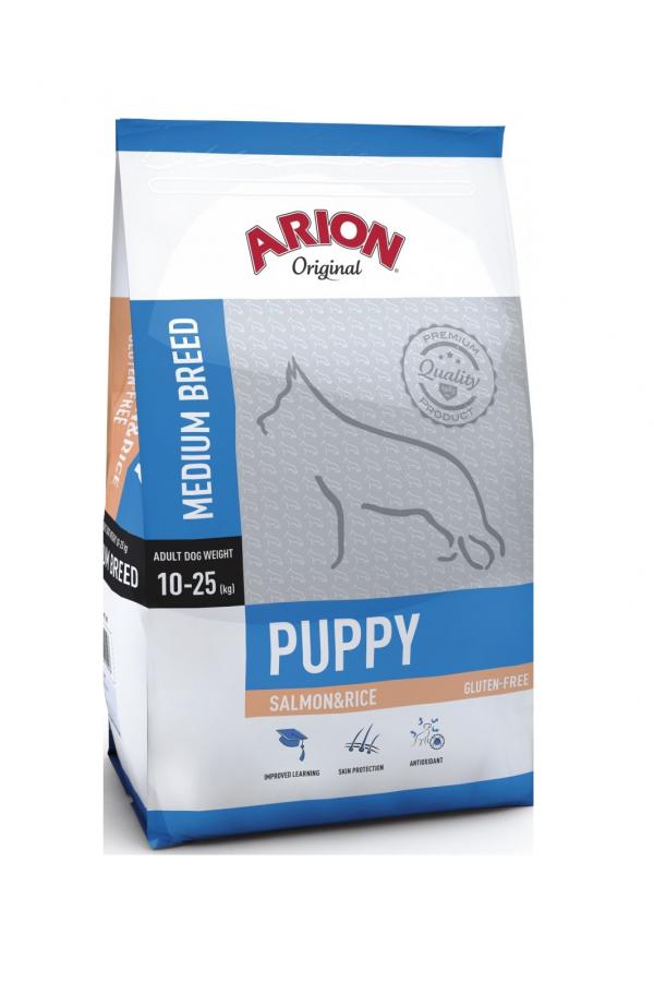 Arion original puppy medium salmon&rice 12 kg