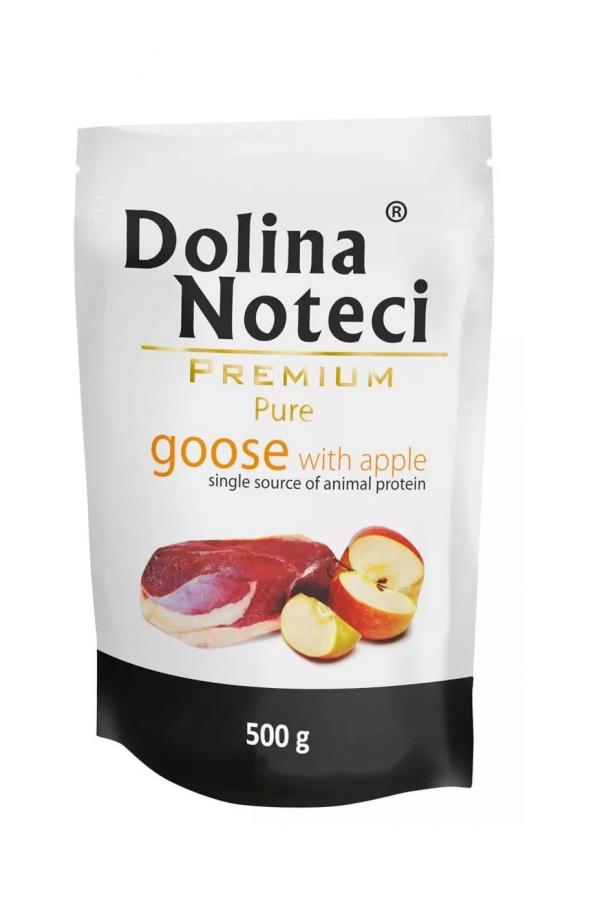 Dolina noteci premium pure gęś z jabłkiem 500 g