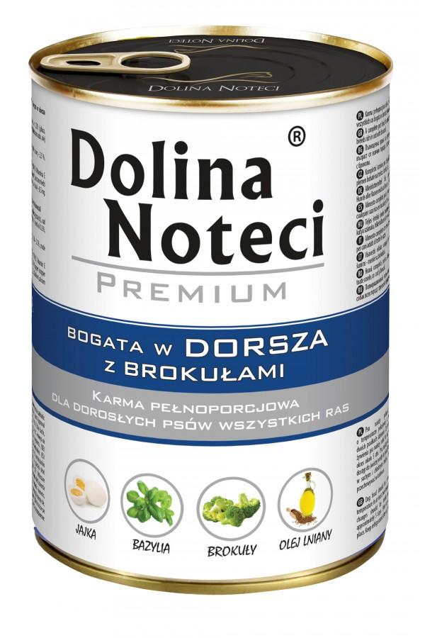 Dolina Noteci Premium Dorsz z Brokułami 400 g
