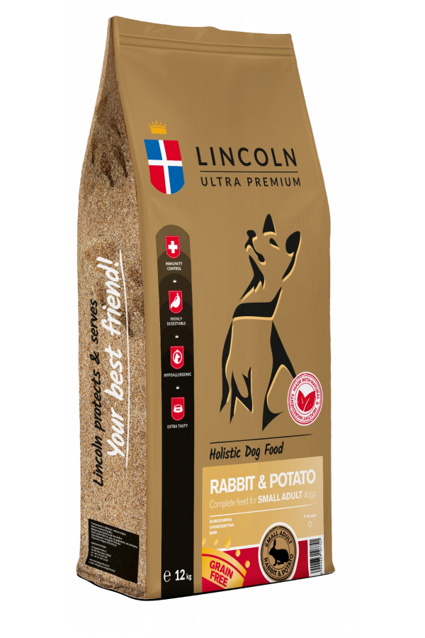 Lincoln Rabbit & Potato Królik Ziemniaki Adult 12 kg