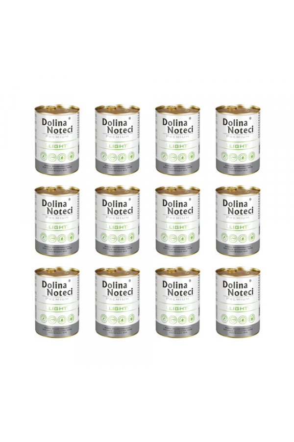 Pakiet Dolina Noteci Premium Light 12 x 400 g