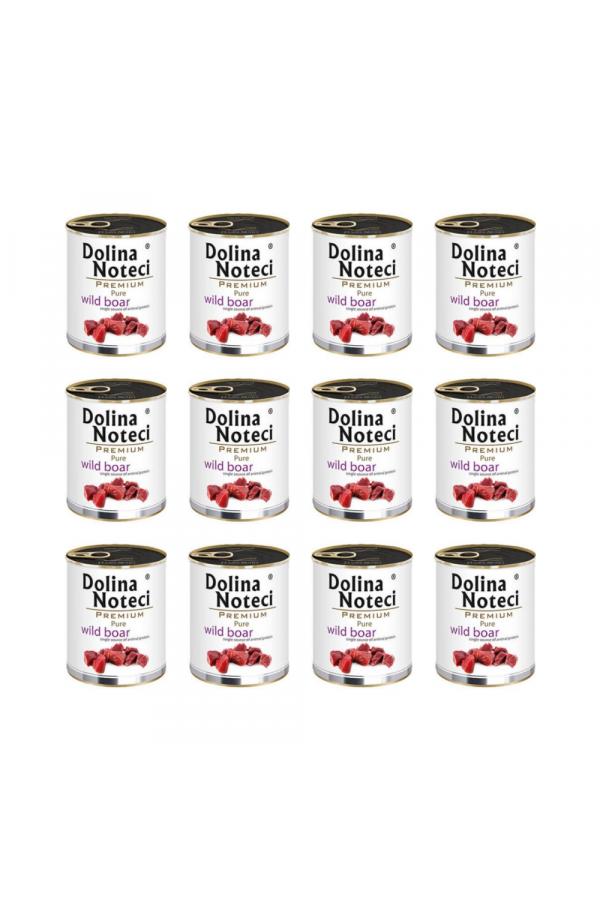 Pakiet Dolina Noteci Premium Pure Bogata w Dziczyznę 12 x 800 g