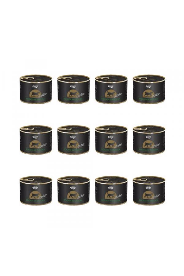 Pakiet Dolina Noteci Natural Taste z Królikiem Junior Kot 12 x 185 g