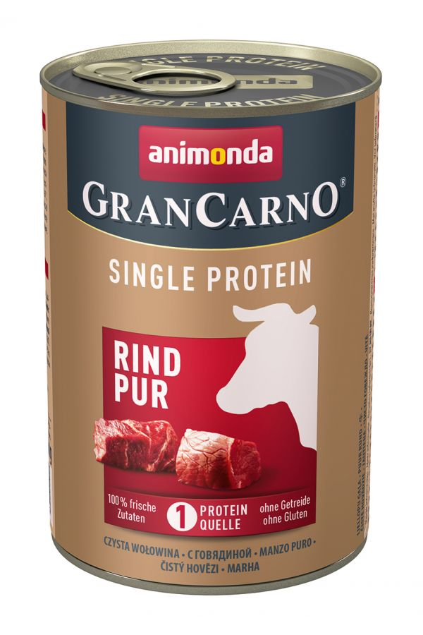 Animonda GranCarno Single Protein Wołowina 400 g