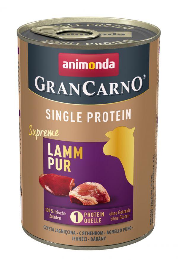 Animonda GranCarno Single Protein Jagnięcina 400 g