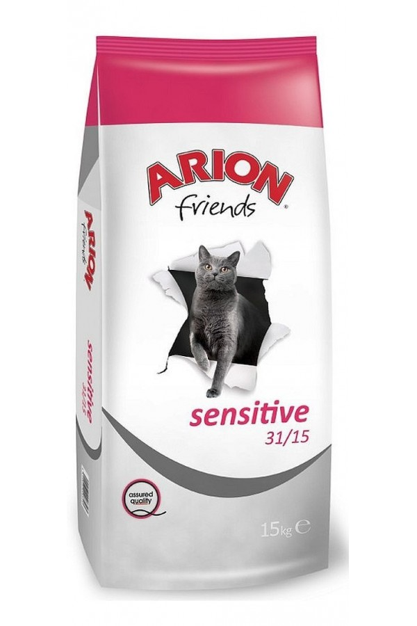 Arion Friends Sensitive Lamb & Rice Jagnięcina Cat 15 kg