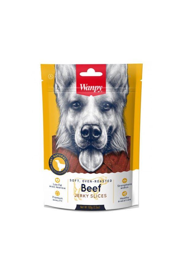 Wanpy Beef Jerky Slices Paski z Wołowiny 100 g