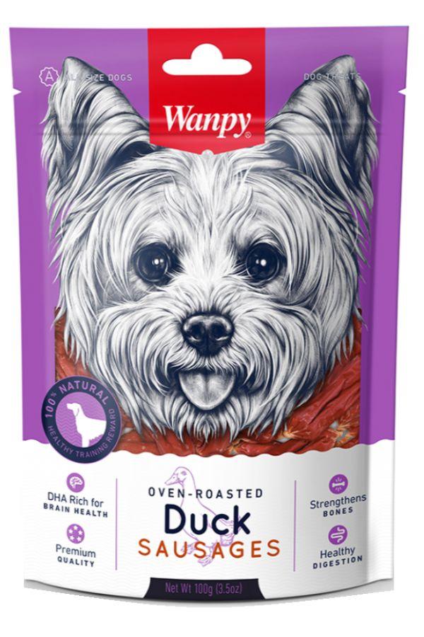 Wanpy Duck Sausages Kiełbaski z Kaczki 100 g