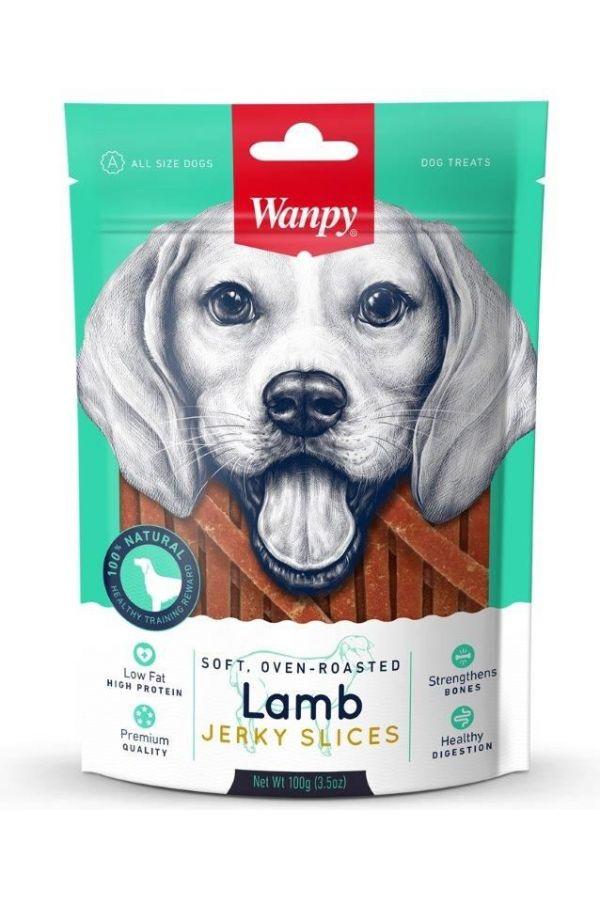 Wanpy Lamb Jerky Slices Paski Jagnięciny 100 g
