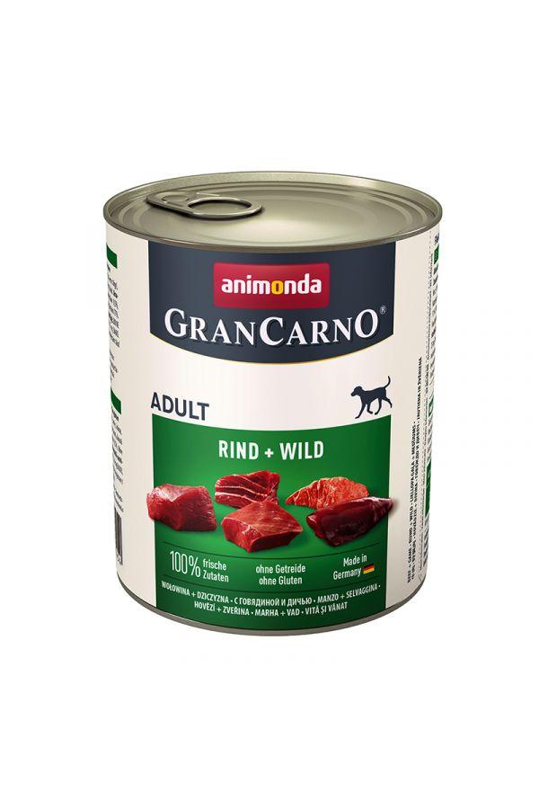 Animonda GranCarno Wołowina z Dziczyzną 800 g
