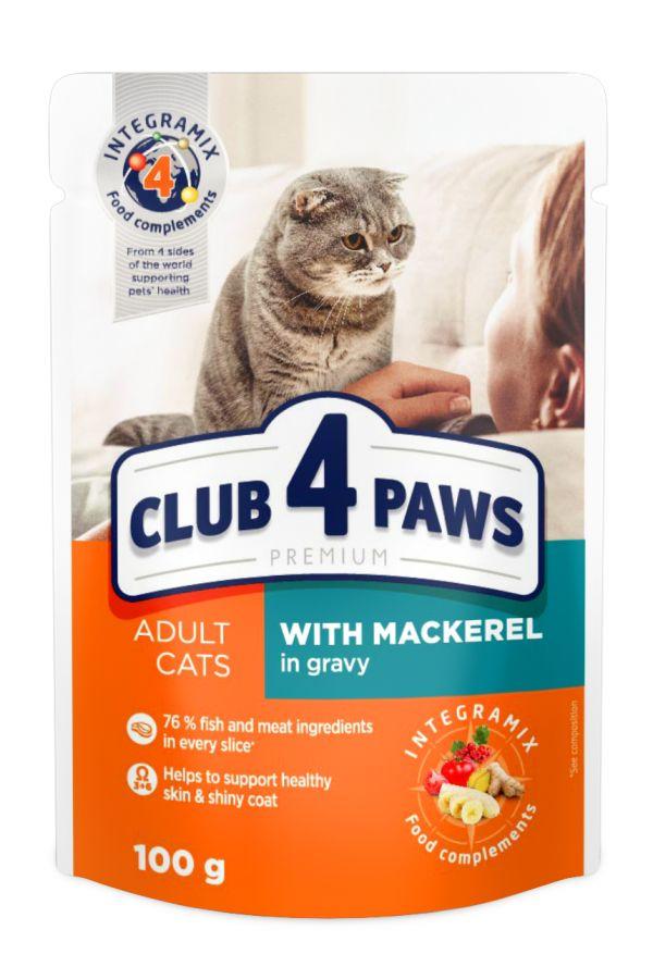 Club 4 Paws Makrela w Sosie Kot 100 g