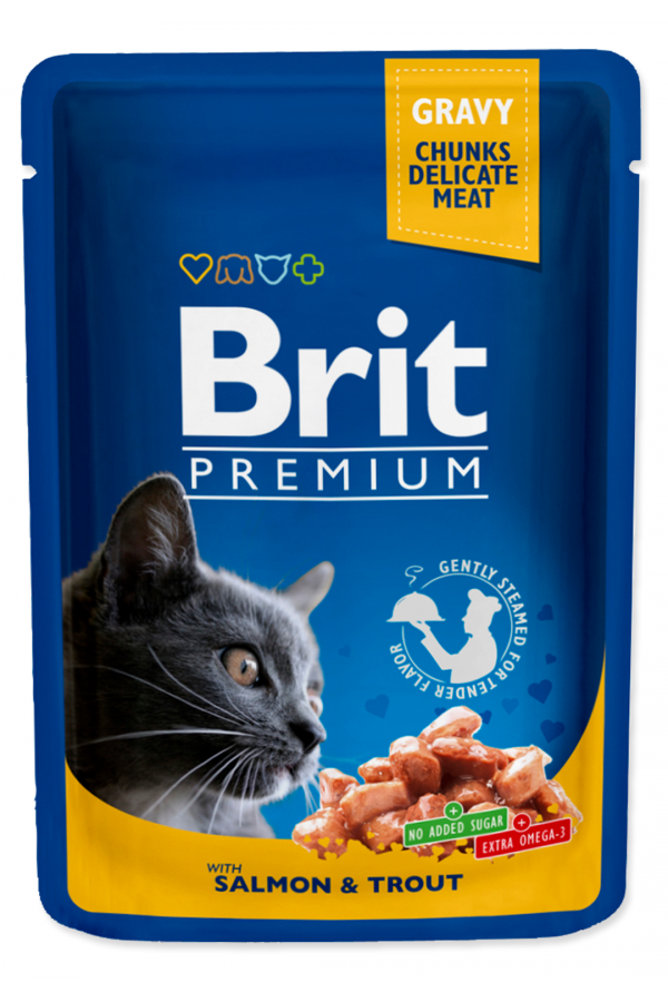 Brit premium salmon & trout