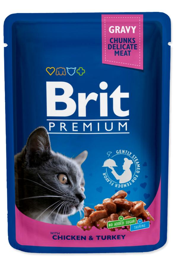 Brit Premium Chicken & Turkey Kurczak Indyk 100 g