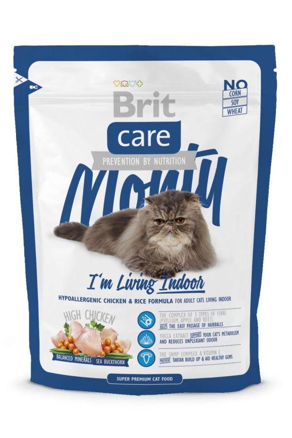 Brit Care Monty Im Living Indoor Kurczak Ryż 400 g