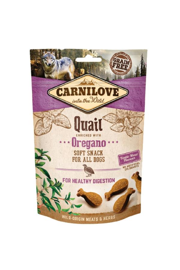 Brit carnilove healthy digestion quail with oregano 200 g