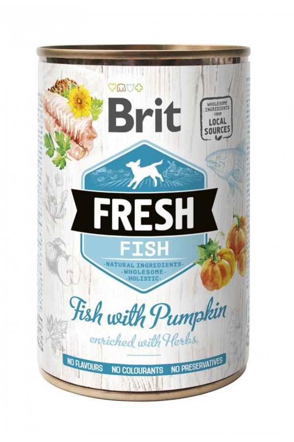 Brit fresh fish with pumpkin 400 g