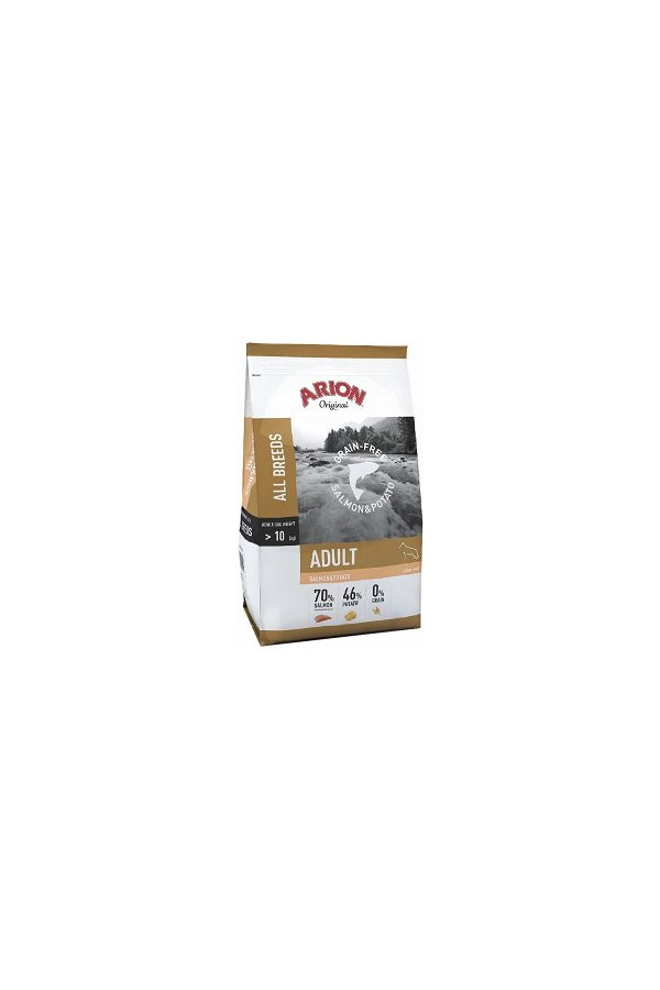 Arion Original Adult Grain Free Salmon & Potato Bezzbożowa Łosoś 12 kg