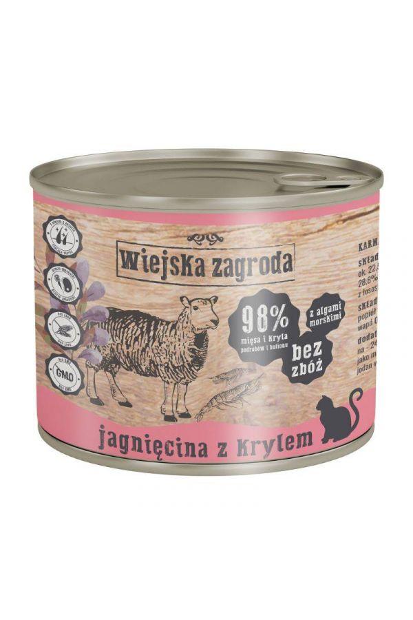 Wiejska Zagroda Jagnięcina z Krylem 200 g