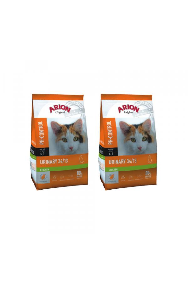 Pakiet Arion Original Cat Urinary 2 x 2 kg