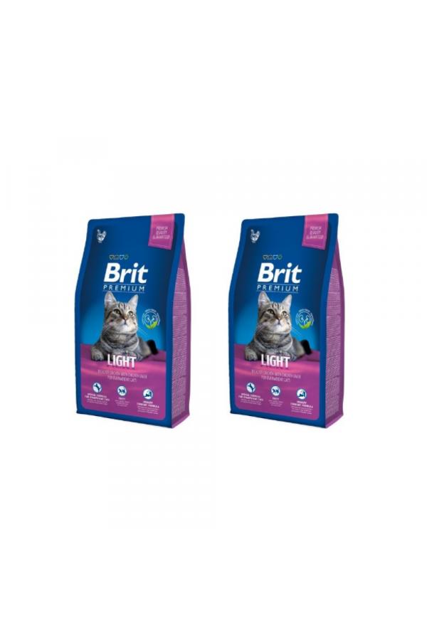 Pakiet Brit Premium Light Kurczak Wątróbka 2 x 1,5 kg