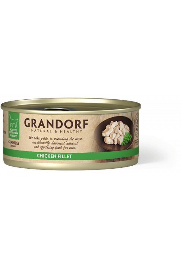 Grandorf Chicken Breast Karma Dla Kotów Pierś z Kurczaka 70 g