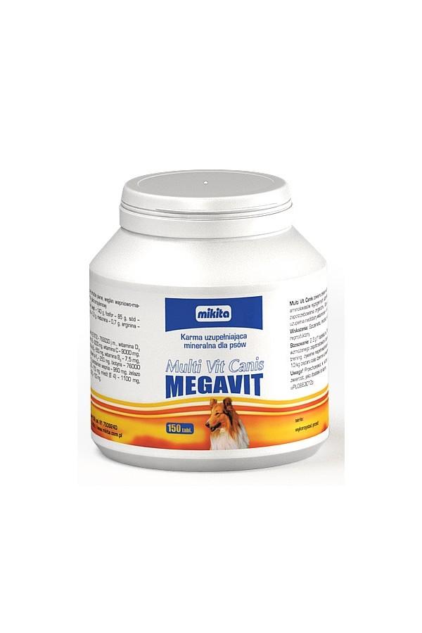 Multivit canis megavit 150 tabletek