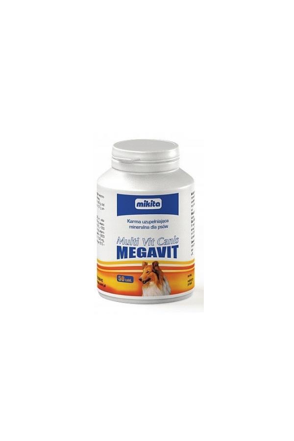 Mikita Multi Vit Canis Megavit 50 Tabletek