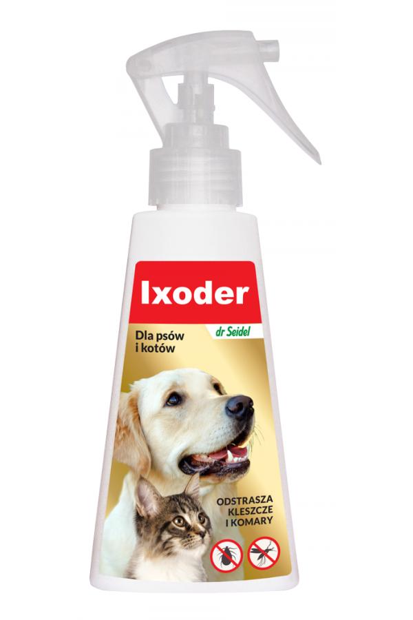 Ixoder Spray Przeciw Kleszczom i Komarom 100 ml