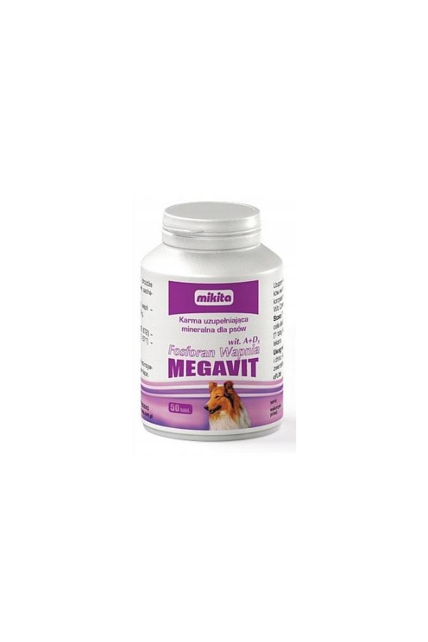 Mikita Fosforan Wapnia Megavit A+D3 50 Tabletek