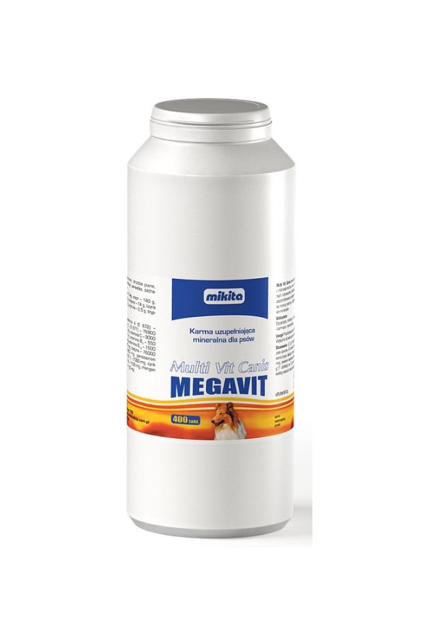 Mikita Multi Vit Canis Megavit 400 Tabletek