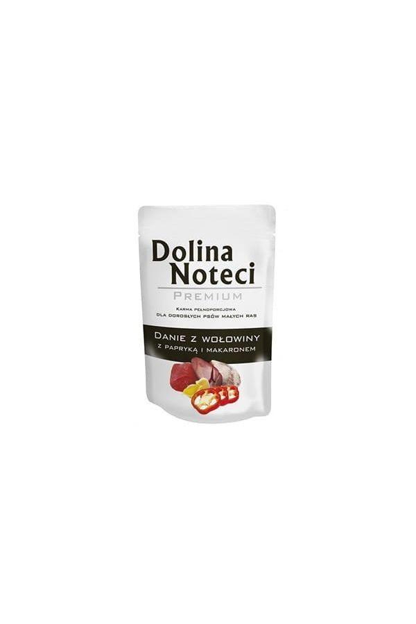 Dolina Noteci Premium  Danie z Wołowiny z Papryką i Makaronem Małe Rasy 100 g